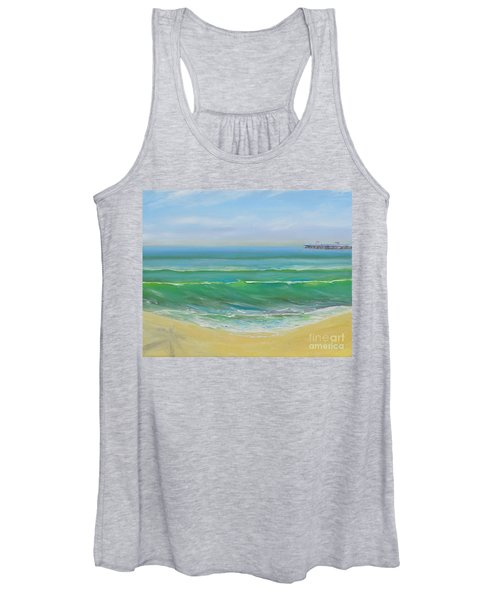 View To The Pier Women's Tank Top