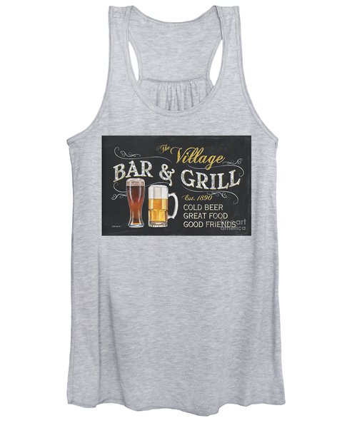 Village Bar And Grill Women's Tank Top