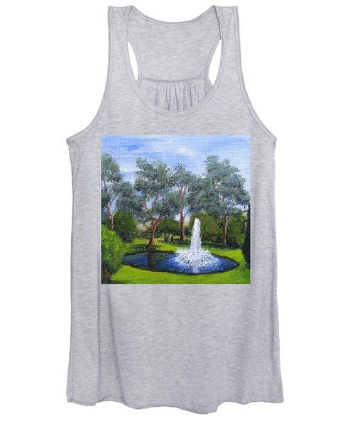 Village Fountain Women's Tank Top