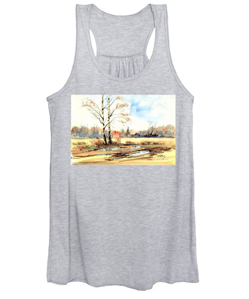 Village Scene I Women's Tank Top