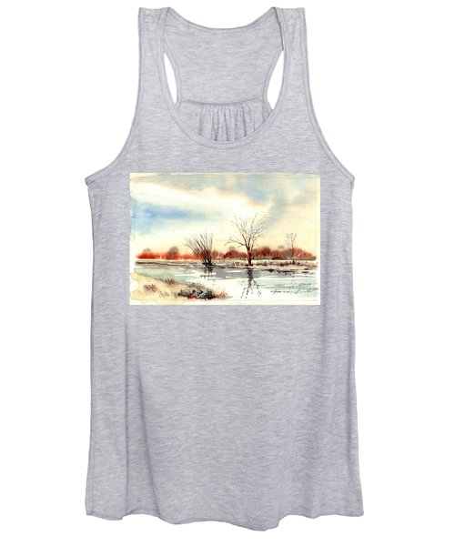 Village Scene II Women's Tank Top