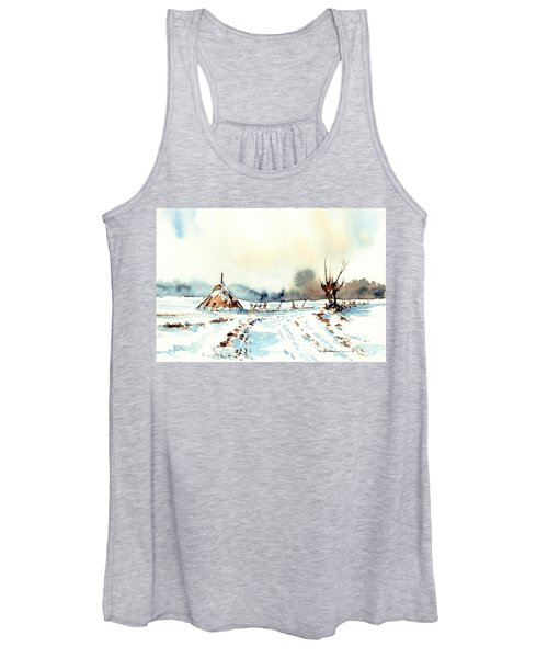 Village Scene Vii Women's Tank Top