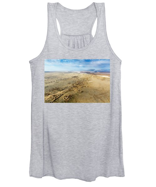 Village Toward Amu Darya River Women's Tank Top
