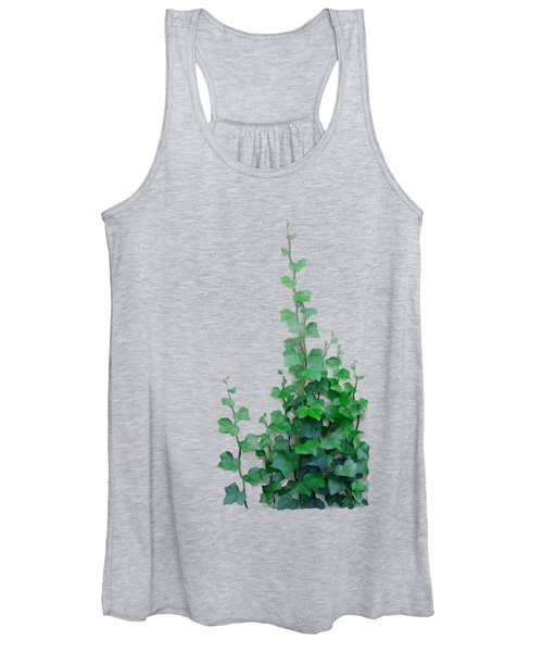 Vines By The Wall Women's Tank Top