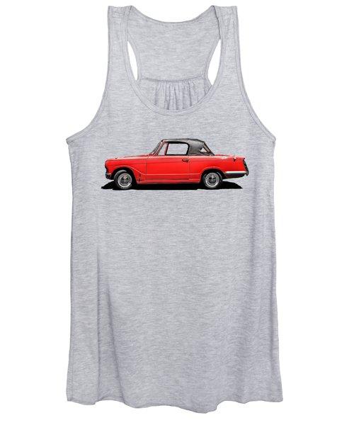 Vintage Italian Automobile Red Tee Women's Tank Top