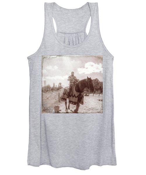Vintage Knight Women's Tank Top
