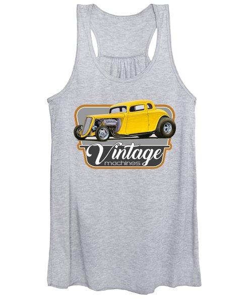 Vintage Machines Women's Tank Top