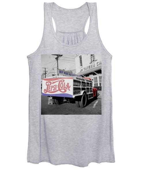 Vintage Pepsi Truck Women's Tank Top