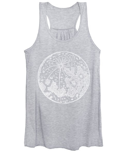 Vintage Planet Tee Blue Women's Tank Top