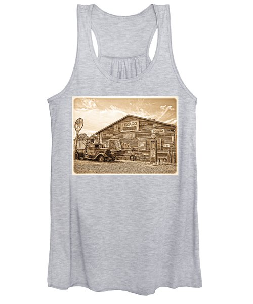 Vintage Service Station Women's Tank Top