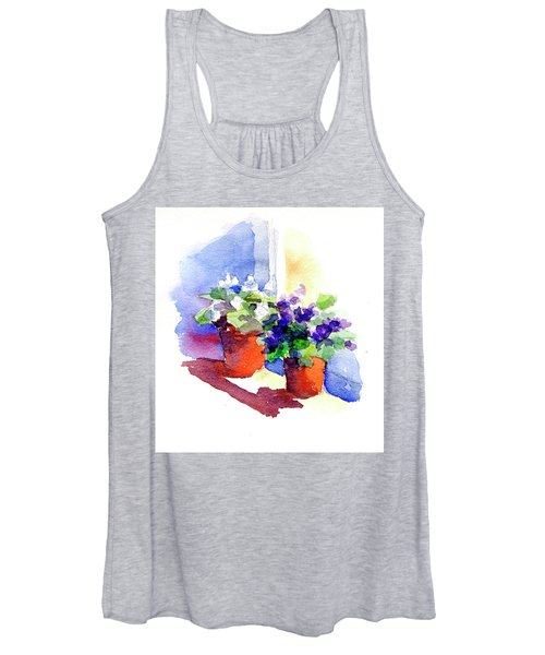 Violets Are Blue Women's Tank Top