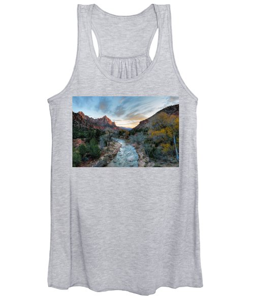 Virgin River And The Watchman Women's Tank Top