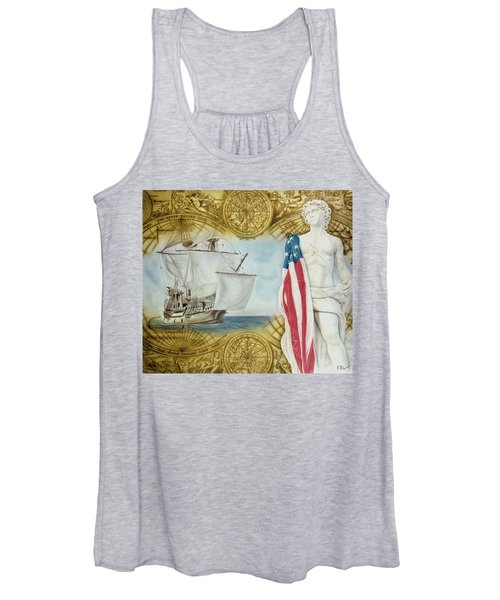 Visions Of Discovery Women's Tank Top