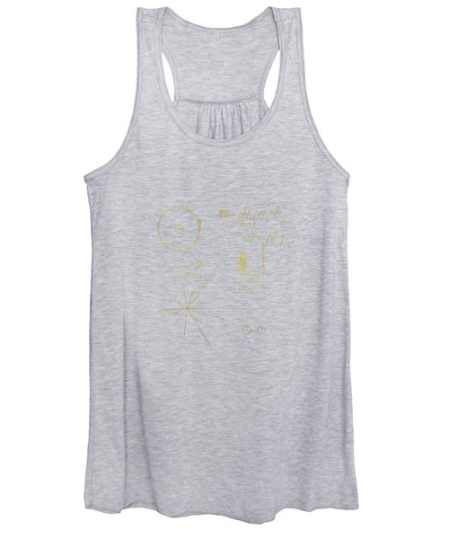 Voyager Golden Record Cover Women's Tank Top