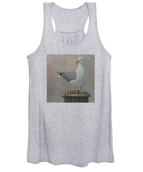 Waiting For Lunch Women's Tank Top