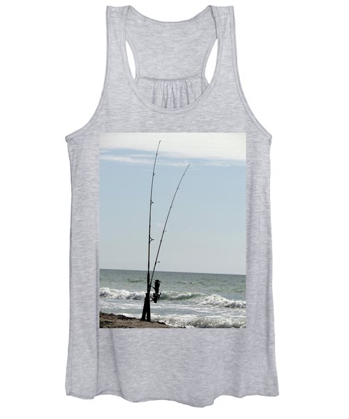 Waiting For The Bait Women's Tank Top
