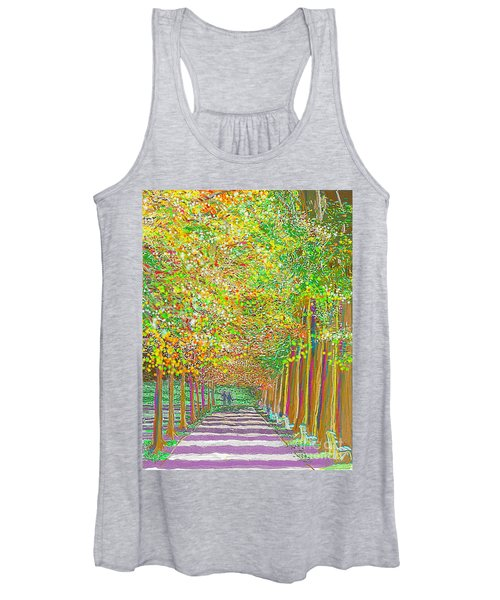 Walk In Park Cathedral Women's Tank Top