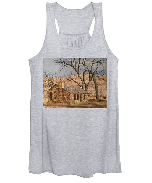 Walker Homestead In Escalante Canyon Women's Tank Top