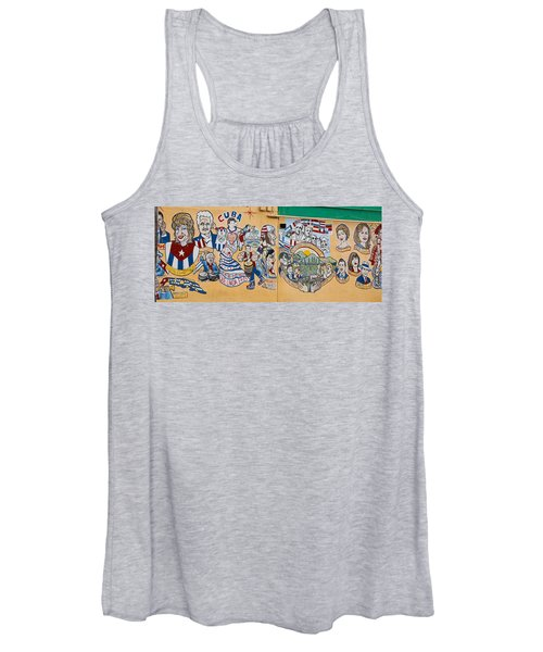 Wall Of Cuba Women's Tank Top