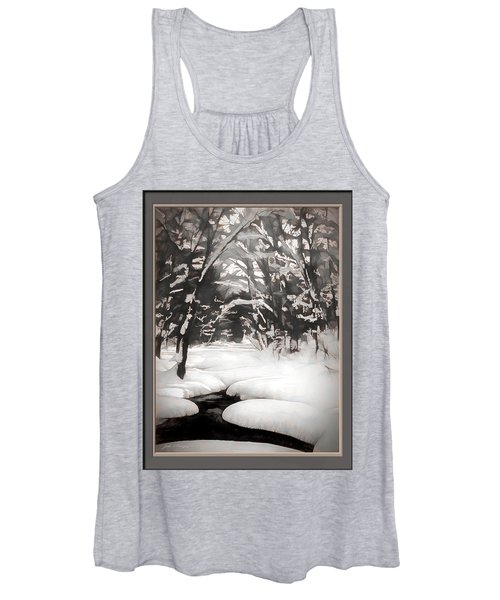 Warmth Of A Winter Day Women's Tank Top