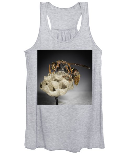 Wasp On A Nest Women's Tank Top