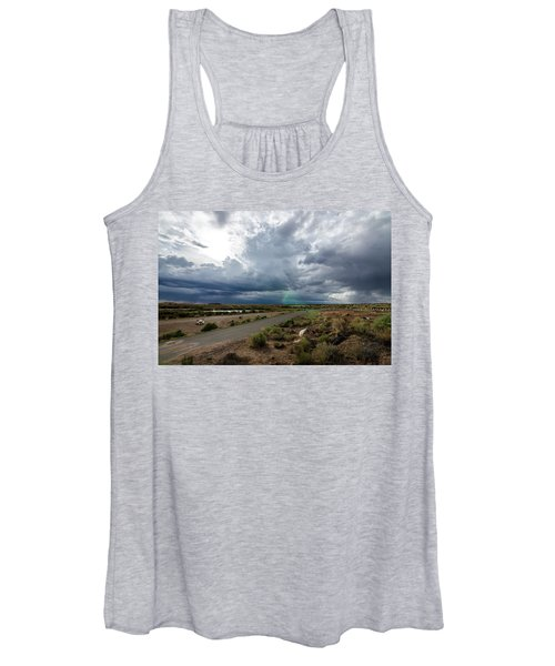 Watching The Storms Roll By Women's Tank Top