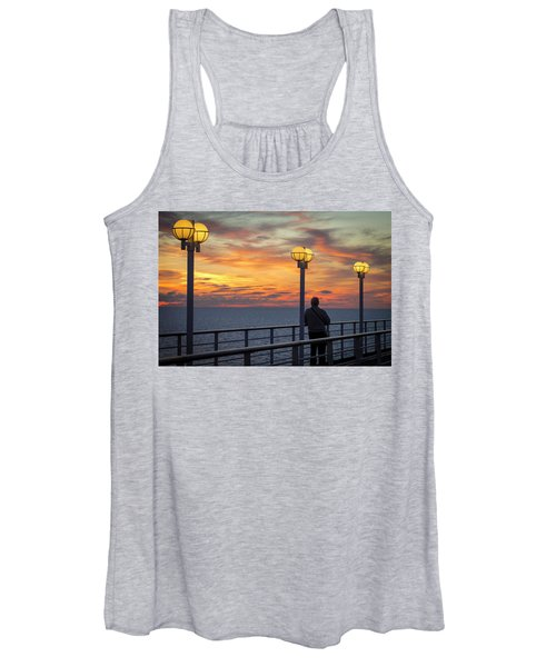 Watching The Sun Go Down Women's Tank Top