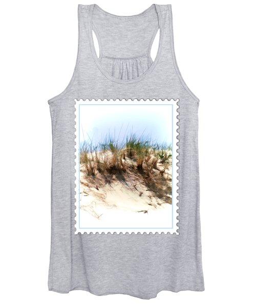 Water Color Sketch  Beach Dune Women's Tank Top