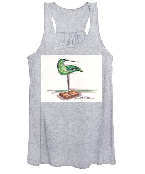 Water Fowl Motif #3 Women's Tank Top