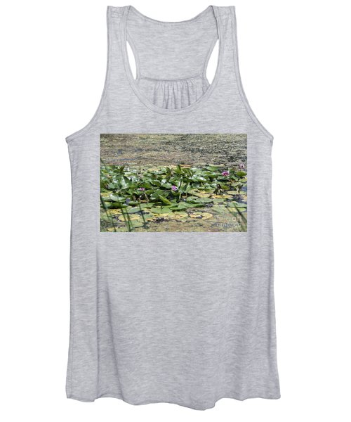 Water Lilies At Giverny - 5 Women's Tank Top