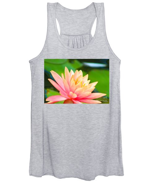Floating Water Lily  Women's Tank Top