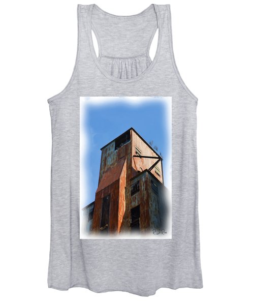 Waterfront Decay Two Women's Tank Top