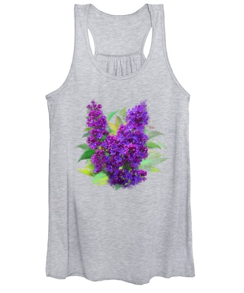 Watercolor Lilac Women's Tank Top