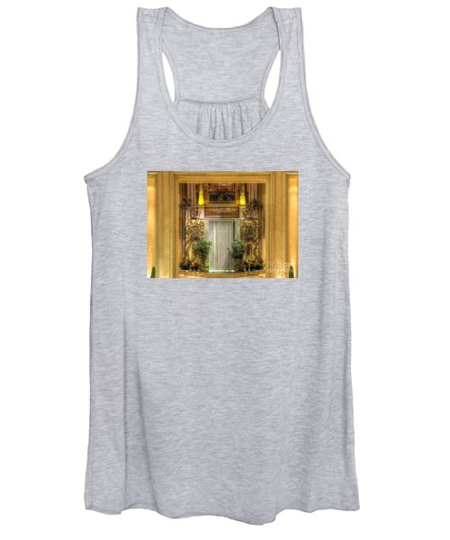 Waterfall View And Hues Women's Tank Top