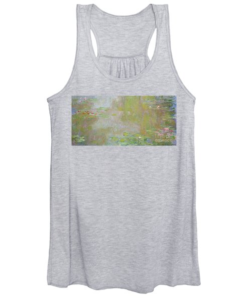 Waterlilies At Giverny Women's Tank Top