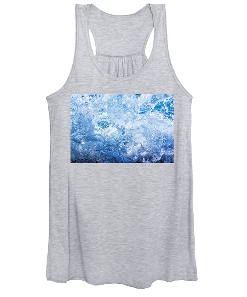 Wave With Hole Women's Tank Top