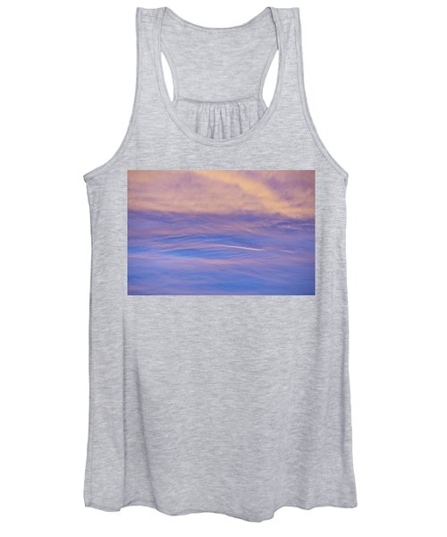 Waves Of Color Women's Tank Top