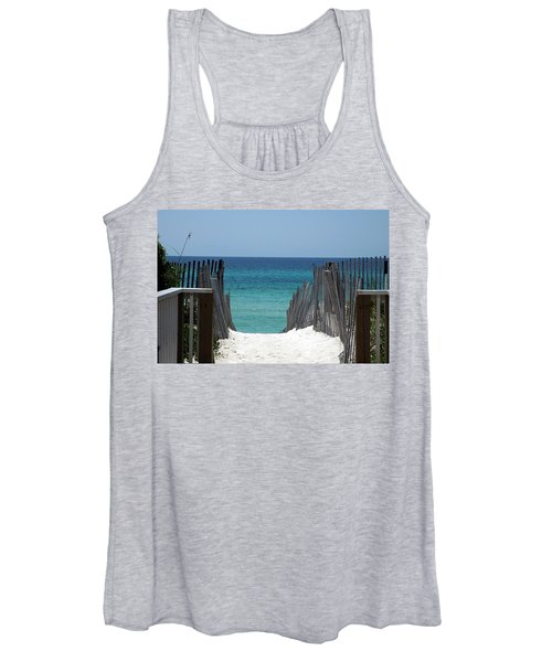 Way To The Beach Women's Tank Top