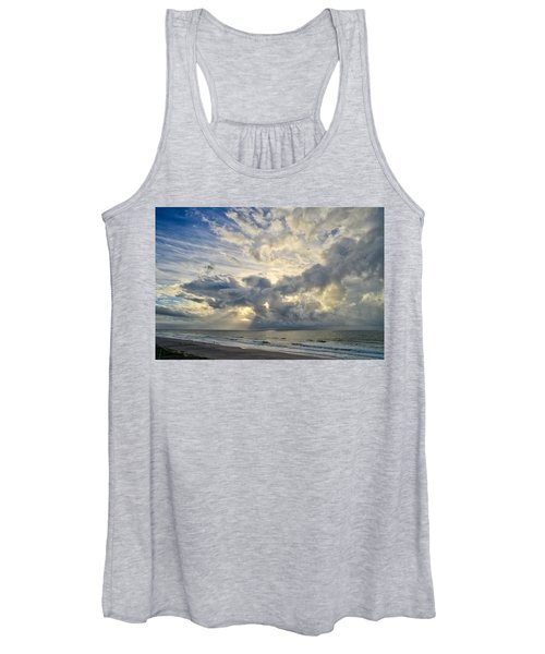 Weather Over Topsail Beach 2977 Women's Tank Top