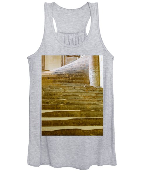 Wells Cathedral Steps Women's Tank Top