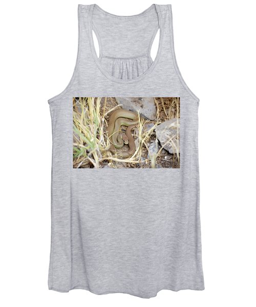 Western Yellow-bellied Racer, Coluber Constrictor Women's Tank Top
