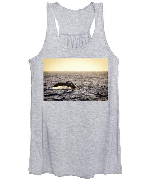 Whale Fluke Women's Tank Top