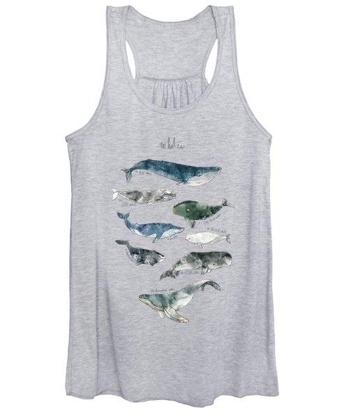 Whales Women's Tank Top