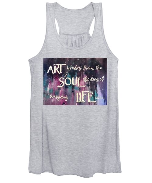 What Art Does Women's Tank Top