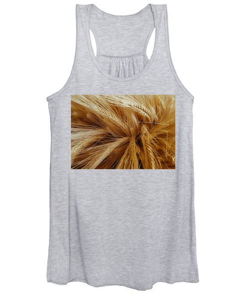 Wheat In The Sunset Women's Tank Top