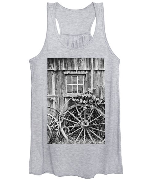 Wheels Wheels And More Wheels Women's Tank Top