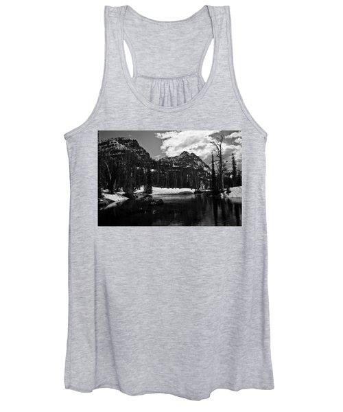 Whelp Lake, Mission Mountains Women's Tank Top