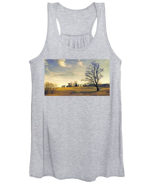 When I Come Back Women's Tank Top