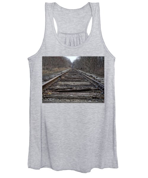 Women's Tank Top featuring the photograph Where Are You Going? by Michael Colgate