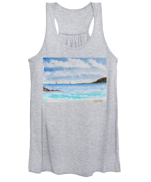 Where There's A Wind, There's A Race Women's Tank Top